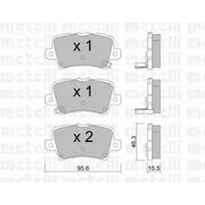 METELLI 22-0729-0 Brake Pad