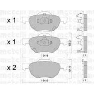 METELLI 22-0730-0 Brake Pad