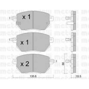 METELLI 22-0741-0 Brake Pad