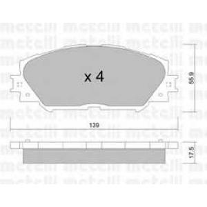 METELLI 22-0747-0 Brake Pad