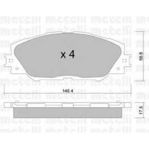 METELLI 22-0748-0 Brake Pad