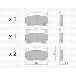 METELLI 22-0761-0 Brake Pad