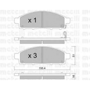 METELLI 22-0791-0 Brake Pad