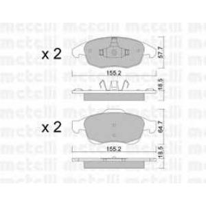 METELLI 22-0800-0 Brake Pad