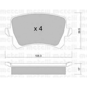 METELLI 22-0806-0 Brake Pad