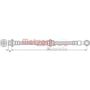METZGER 4110669 Шланг гальмівний