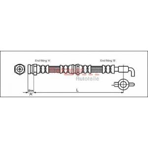 METZGER 4114780 Шланг тормозной