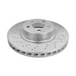 Тормозной диск 0155212045pd meyle - MERCEDES-BENZ S-CLASS (W220) седан S 430 (220.070, 220.170)