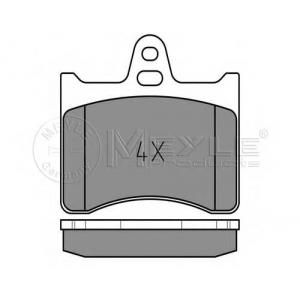MEYLE 025 203 8915 Комплект тормозных колодок, дисковый тормоз Ситроен Cx Брейк