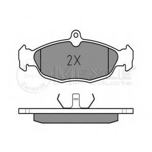 MEYLE 025 205 4716/PD Комплект тормозных колодок, дисковый тормоз Ягуар