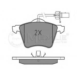 MEYLE 025 210 3419/W Тормозные колодки дисковые VW T4