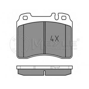 Комплект тормозных колодок, дисковый тормоз 0252115316 meyle - MERCEDES-BENZ E-CLASS (W124) седан E 280 long (124.029)