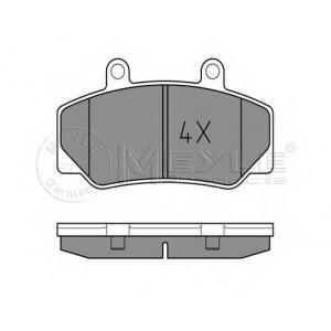 Комплект тормозных колодок, дисковый тормоз 0252123316 meyle - VOLVO 740 (744) седан 2.3