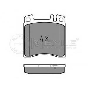 Комплект тормозных колодок, дисковый тормоз 0252130418 meyle - MERCEDES-BENZ S-CLASS (W140) седан 300 SE,SEL/S320 (140.032, 140.033)