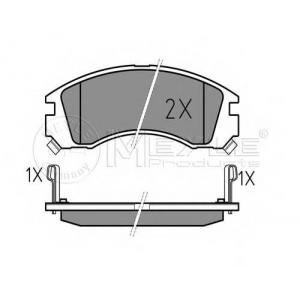 MEYLE 025 213 6315/W Тормозные колодки дисковые