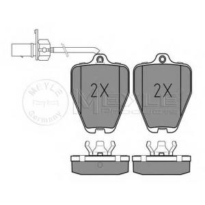 Комплект тормозных колодок, дисковый тормоз 0252145218w meyle - AUDI 100 (4A, C4) седан S4 Turbo quattro