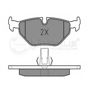 Комплект тормозных колодок, дисковый тормоз 0252169117 meyle - BMW 5 (E39) седан 520 i