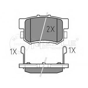 MEYLE 025 217 1914/W Тормозные колодки дисковые