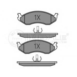 Комплект тормозных колодок, дисковый тормоз 0252182217 meyle - JEEP CHEROKEE (XJ) вездеход закрытый 2.5 i 4x4