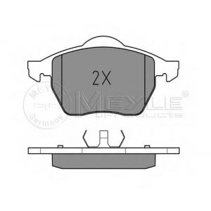 Комплект тормозных колодок, дисковый тормоз 0252184819 meyle - VW SHARAN (7M8, 7M9, 7M6) вэн 1.9 TDI