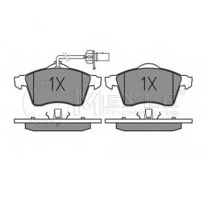 Комплект тормозных колодок, дисковый тормоз 0252188519w meyle - VW TRANSPORTER IV автобус (70XB, 70XC, 7DB, 7DW) автобус 2.4 D Syncro