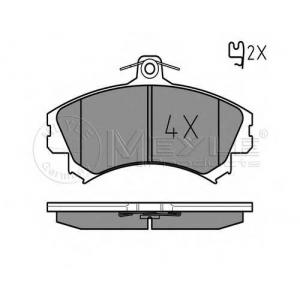 MEYLE 0252192015 Комплект тормозных колодок, дисковый тормоз