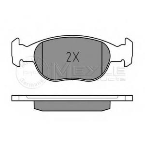 MEYLE 025 219 3017/W Комплект тормозных колодок, дисковый тормоз