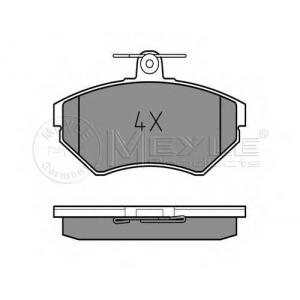 Комплект тормозных колодок, дисковый тормоз 0252194519 meyle - AUDI A4 (8D2, B5) седан 1.6