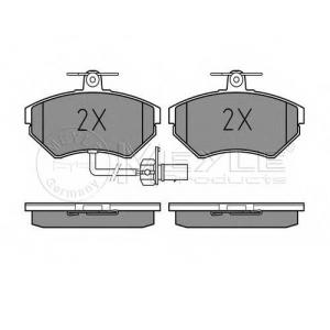 Комплект тормозных колодок, дисковый тормоз 0252194519w meyle - AUDI A4 (8D2, B5) седан 1.6