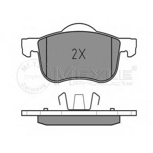Комплект тормозных колодок, дисковый тормоз 0252307318 meyle - VOLVO S80 (TS, XY) седан 2.9