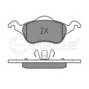 Комплект тормозных колодок, дисковый тормоз 0252315419 meyle - FORD FOCUS (DAW, DBW) Наклонная задняя часть 1.4 16V