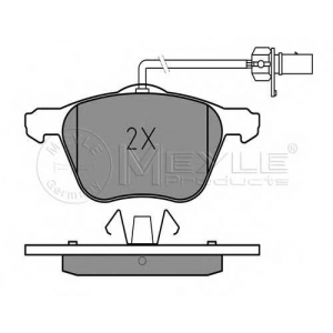 Комплект тормозных колодок, дисковый тормоз 0252326920w meyle - VW TRANSPORTER IV автобус (70XB, 70XC, 7DB, 7DW) автобус 2.4 D Syncro