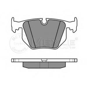 Комплект тормозных колодок, дисковый тормоз 0252344717 meyle - BMW 7 (E65, E66) седан 735 i,Li