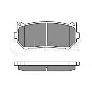 MEYLE 025 234 5513/W Тормозные колодки дисковые
