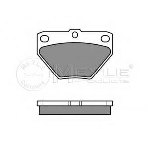 Комплект тормозных колодок, дисковый тормоз 0252352114w meyle - TOYOTA YARIS (SCP1_, NLP1_, NCP1_) Наклонная задняя часть 1.0 16V