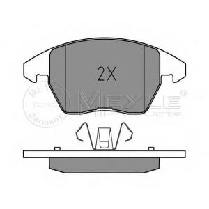 Комплект тормозных колодок, дисковый тормоз 0252358919 meyle - PEUGEOT 307 CC (3B) кабрио 2.0 16V