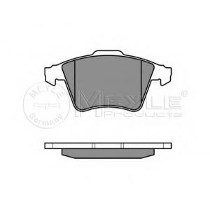 Комплект тормозных колодок, дисковый тормоз 0252374919w meyle - VW TOUAREG (7P5) вездеход закрытый 3.0 V6 TDI