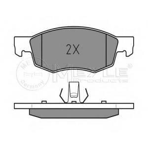 MEYLE 0252384218PD Комплект тормозных колодок, дисковый тормоз