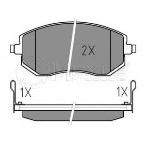 MEYLE 025 238 6517/W Тормозные колодки дисковые