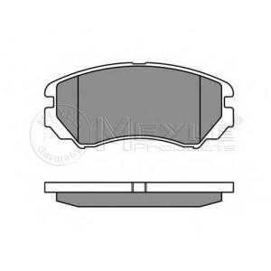 MEYLE 025 238 9116/W Тормозные колодки дисковые