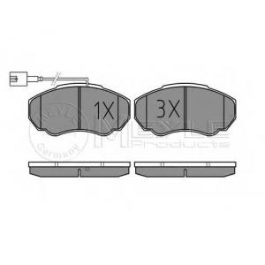 Комплект тормозных колодок, дисковый тормоз 0252391719w meyle - PEUGEOT BOXER автобус (230P) автобус 2.0 i