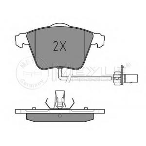 MEYLE 025 239 5020/W Тормозные колодки дисковые