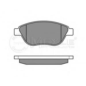 Комплект тормозных колодок, дисковый тормоз 0252398119w meyle - OPEL CORSA D Наклонная задняя часть 1.3 CDTI