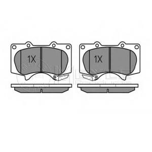 MEYLE 025 240 2417/W Тормозные колодки