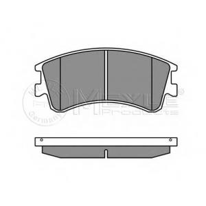 MEYLE 025 240 4618/W Тормозные колодки дисковые Mazda 6 GG, GY