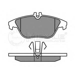 Комплект тормозных колодок, дисковый тормоз 0252425317 meyle - MERCEDES-BENZ C CLASS (W204) седан C 200 CDI (204.007)
