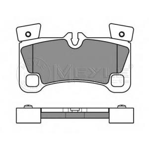 Комплект тормозных колодок, дисковый тормоз 0252429616 meyle - VW TOUAREG (7LA, 7L6, 7L7) вездеход закрытый 5.0 V10 TDI