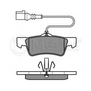 0252436719w meyle Комплект тормозных колодок, дисковый тормоз VW MULTIVAN вэн 2.0