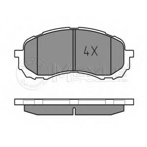 MEYLE 025 243 7217/W Тормозные колодки дисковые