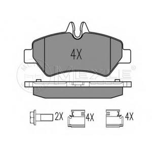 Комплект тормозных колодок, дисковый тормоз 0252919019 meyle - MERCEDES-BENZ SPRINTER 3,5-t автобус (906) автобус 318 CDI (906.731, 906.733, 906.735)